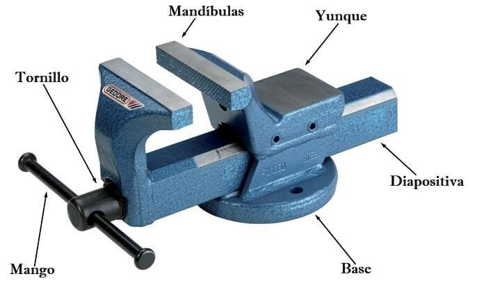 Partes y piezas de un tornillo de banco, tornillo de banco carpintero, tornillo de banco dibujo, tornillo de banco articulado, tornillo de banco paralelo, dibujo tornillo de banco, caracol de banco, tornillo de banco usado